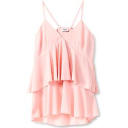 Oblačila Ženske Topi & Bluze Liu Jo F19006T5540 Roza