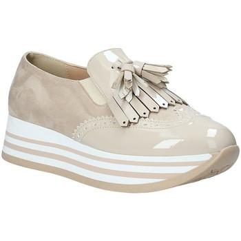 Čevlji  Ženske Slips on Grace Shoes MAR016 Bež