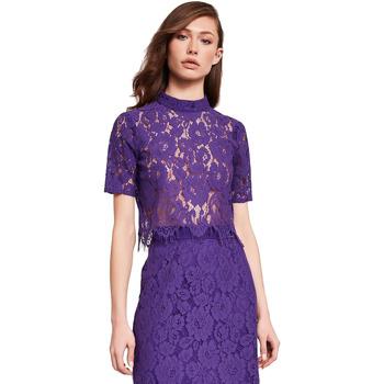 Oblačila Ženske Topi & Bluze Gaudi 921FD45001 Vijolična