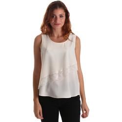 Oblačila Ženske Topi & Bluze Liu Jo W69236 T8552 Biely