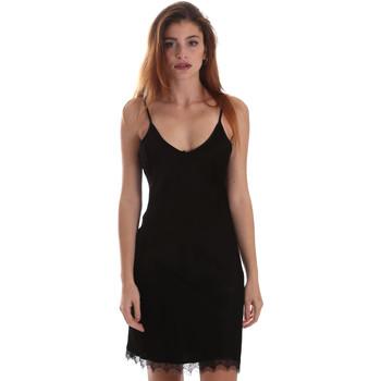 Oblačila Ženske Kratke obleke Fracomina FR19FM599 Črna