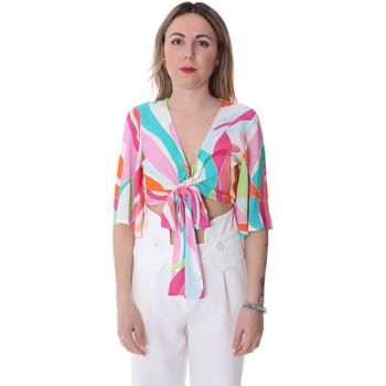 Oblačila Ženske Topi & Bluze Fracomina FR20SP519 Biely