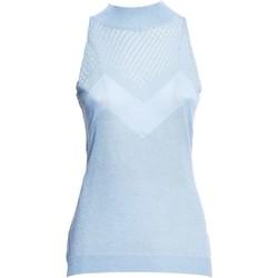Oblačila Ženske Topi & Bluze Fracomina FR20SM812 Modra