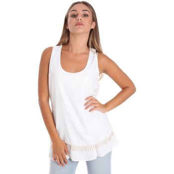 Oblačila Ženske Topi & Bluze Fracomina FR20SM014 Biely