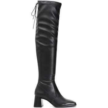 Čevlji  Ženske Visoki škornji Café Noir LD914 Črna