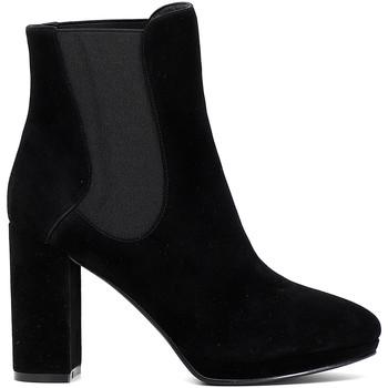 Čevlji  Ženske Gležnjarji Café Noir MD541 Črna