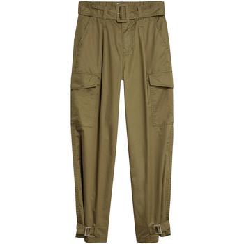 Oblačila Ženske Hlače cargo Tommy Jeans DW0DW08321 Zelena