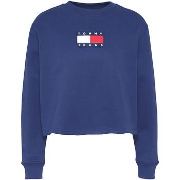 Oblačila Ženske Puloverji Tommy Jeans DW0DW08548 Modra