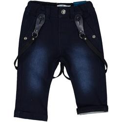Oblačila Deklice Kavbojke slim Melby 20F0220 Modra