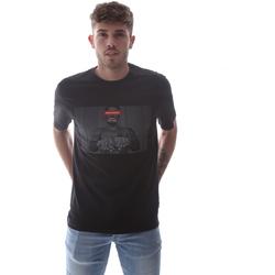 Oblačila Moški Majice s kratkimi rokavi Sprayground 21SFW004 Črna
