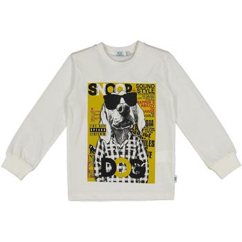 Oblačila Otroci Puloverji Melby 40C0062 Biely