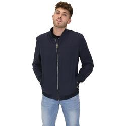 Oblačila Moški Jakne Les Copains 9UB081 Modra