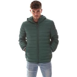 Oblačila Moški Puhovke Navigare NV67073 Zelena