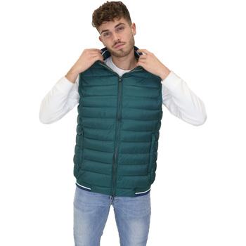Oblačila Moški Puhovke Navigare NV66017 Zelena