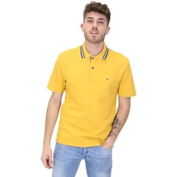 Oblačila Moški Polo majice kratki rokavi Les Copains 9U9022 Rumena
