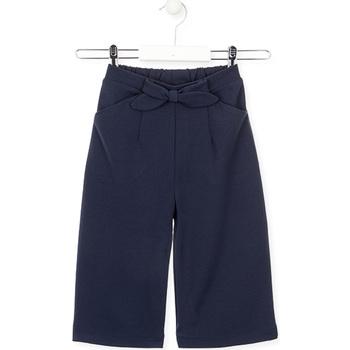 Oblačila Deklice Lahkotne hlače & Harem hlače Losan 026-6793AL Modra