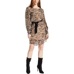 Oblačila Ženske Kratke obleke Gaudi 021FD15029 Rjav