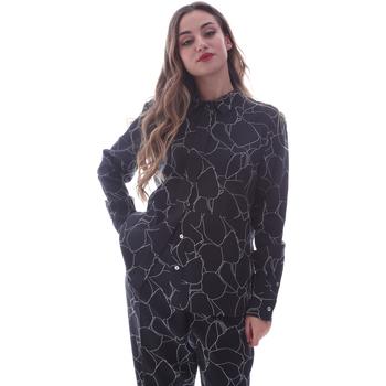 Oblačila Ženske Srajce & Bluze Calvin Klein Jeans K20K202231 Črna