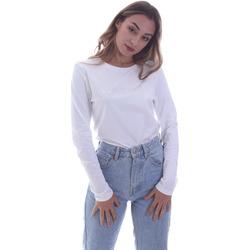 Oblačila Ženske Majice z dolgimi rokavi Calvin Klein Jeans K20K202386 Biely
