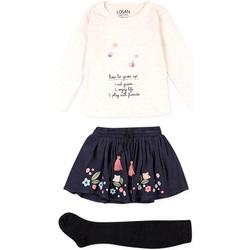 Oblačila Otroci Otroški kompleti Losan 026-8016AL Bež