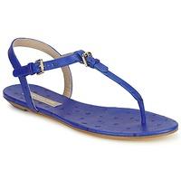 Čevlji  Ženske Sandali & Odprti čevlji Michael Kors FOULARD Modra