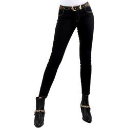 Oblačila Ženske Kavbojke slim Versace A1HVB02HAPV4P899 Črna