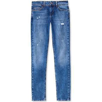 Oblačila Ženske Jeans boyfriend Liu Jo UF0016 D3105 Modra