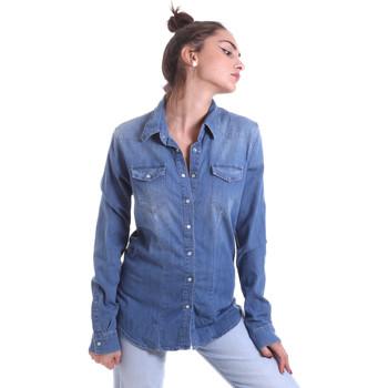 Oblačila Ženske Srajce & Bluze Fornarina BE174577D884AS Modra