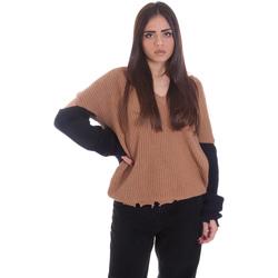 Oblačila Ženske Puloverji P-Jean 1X109Q Y4ZX Bež