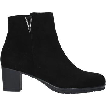 Čevlji  Ženske Polškornji Susimoda 803081 Črna