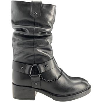 Čevlji  Ženske Mestni škornji    Apepazza F0BEATRIX01/LEA Črna