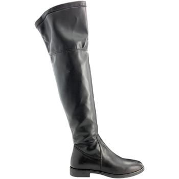 Čevlji  Ženske Visoki škornji Grunland ST0463 Črna