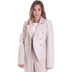 Oblačila Ženske Jakne & Blazerji Fracomina F120W07023E00701 Bež