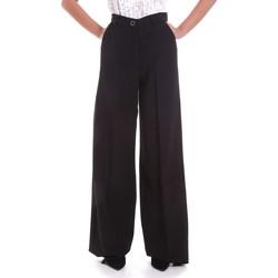 Oblačila Ženske Lahkotne hlače & Harem hlače Fracomina F120W10069W05301 Črna