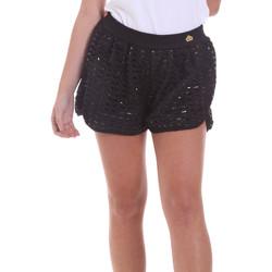 Oblačila Ženske Kratke hlače & Bermuda Fornarina BE171M03H26400 Črna