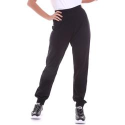 Oblačila Ženske Hlače Key Up 5FI47 0001 Črna