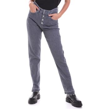 Oblačila Ženske Jeans straight Calvin Klein Jeans K20K202114 Siva