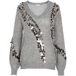 Oblačila Ženske Puloverji Liu Jo MF0014 MA63J Siva