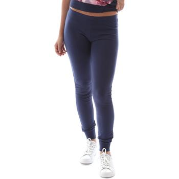 Oblačila Ženske Pajkice Key Up 5LI21 0001 Modra