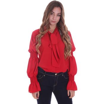 Oblačila Ženske Srajce & Bluze Gaudi 021BD45025 Rdeča