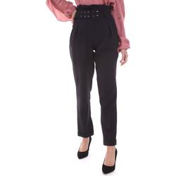 Oblačila Ženske Hlače Chino / Carrot Gaudi 021FD25013 Črna