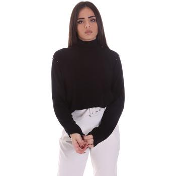 Oblačila Ženske Puloverji Gaudi 021BD53026 Črna