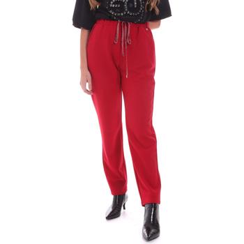 Oblačila Ženske Hlače Gaudi 021BD25026 Rdeča