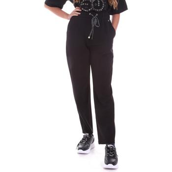 Oblačila Ženske Spodnji deli trenirke  Gaudi 021BD25026 Črna