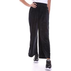 Oblačila Ženske Lahkotne hlače & Harem hlače Key Up 5CS54 0001 Črna