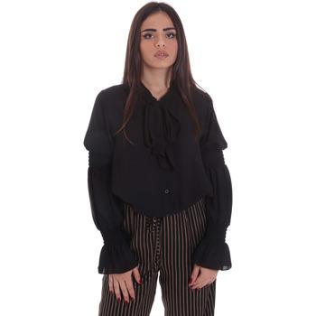 Oblačila Ženske Topi & Bluze Gaudi 021BD45025 Črna