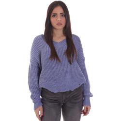 Oblačila Ženske Puloverji Gaudi 021BD53014 Modra