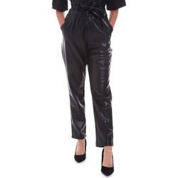 Oblačila Ženske Hlače Chino / Carrot Gaudi 021FD28001 Črna