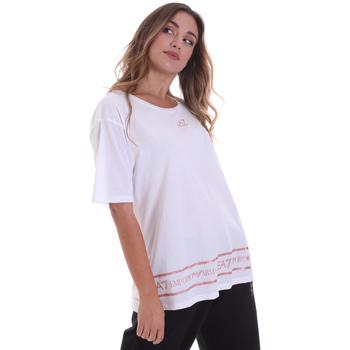 Oblačila Ženske Majice s kratkimi rokavi Ea7 Emporio Armani 6HTT32 TJ52Z Biely