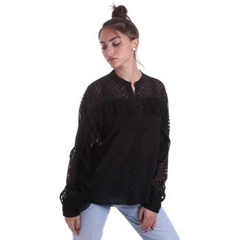 Oblačila Ženske Srajce & Bluze Fracomina F120W15014W00401 Črna
